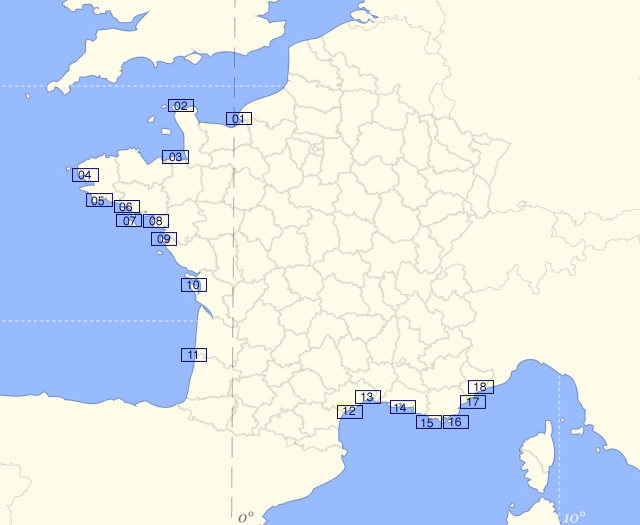 M t o marine plan d 39 eau pr visions meteo marine gratuite 14 jours - Meteo consult port camargue ...