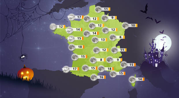 Actualit m t o meteo consult - La date d halloween ...