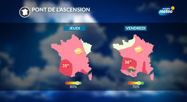 METEO - Soleil sur toute la France, les prévisions météo de la semaine