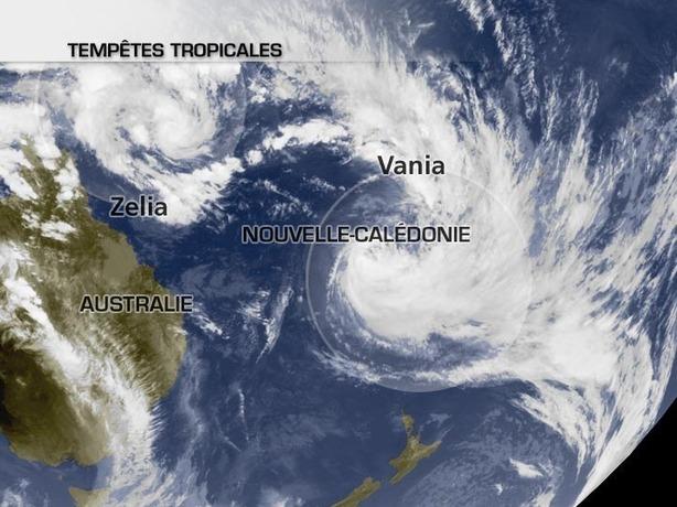 Nouvelle-Calédonie : nouvelle tempête en vue