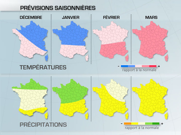 Prévisions saisonnières : aperçu de l'hiver actualisé