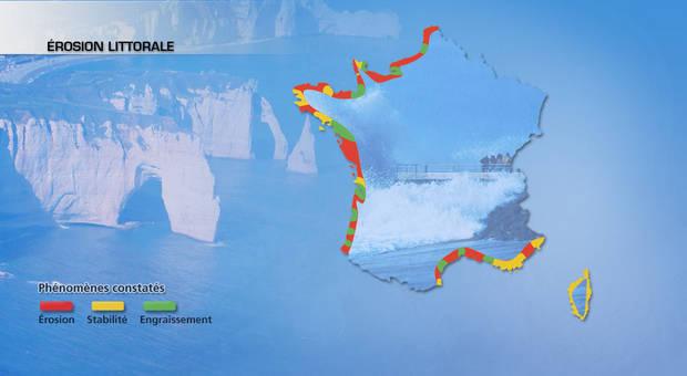 Recul des côtes : nouvelles menaces avec les grandes marées ?